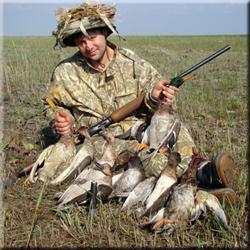 охота на утку в Тульской области